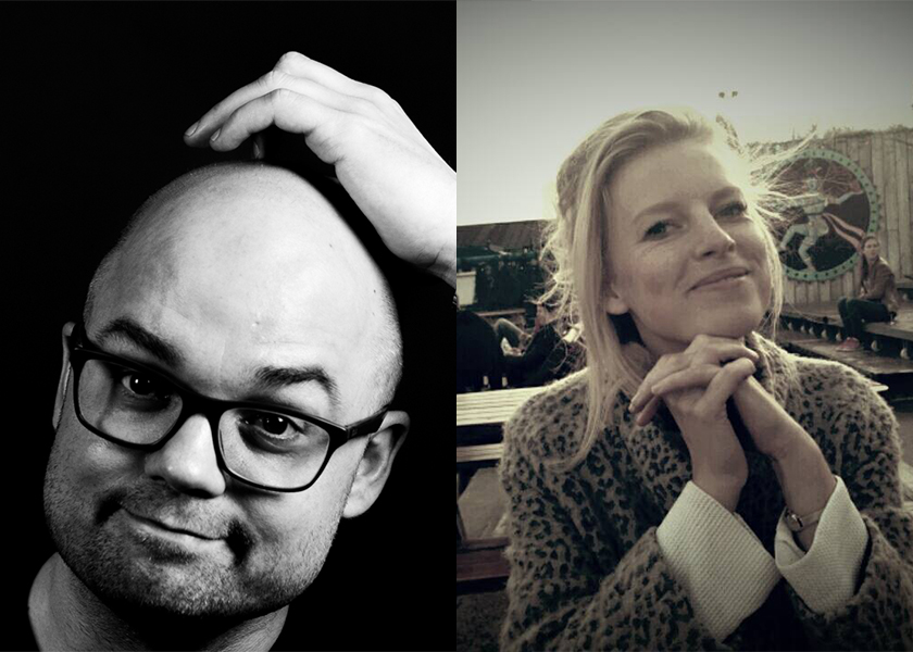 Awesome Utrecht trustees Micha en Tess
